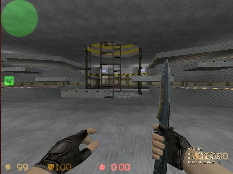 «zm_space_bunker» для CS 1.6