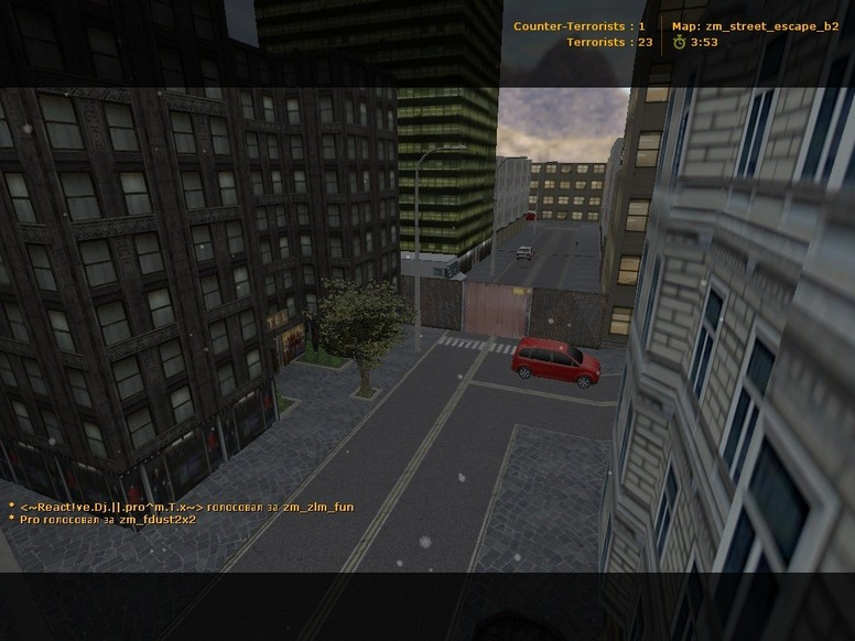 «zm_street_escape_b2» для CS 1.6