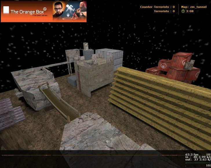 «zm_tunnel» для CS 1.6