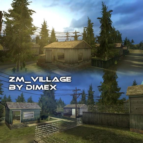 «zm_village» для CS 1.6