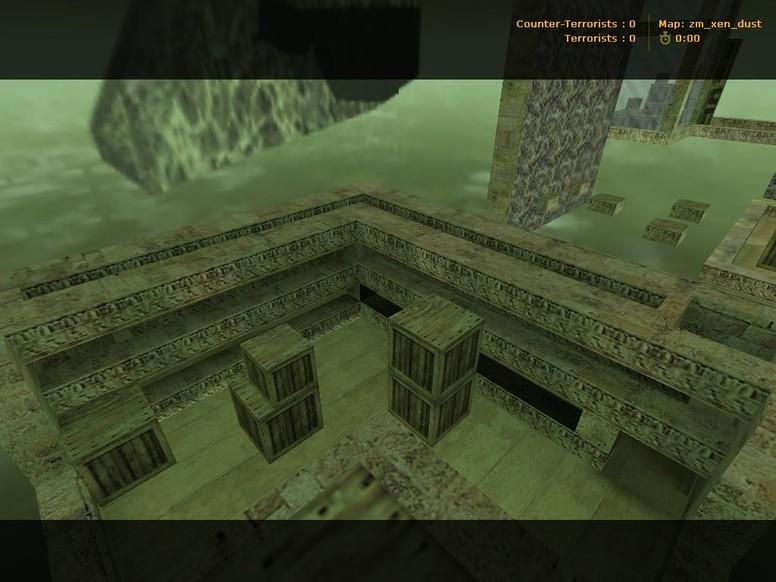 «Zm_Xen_Dust» для CS 1.6