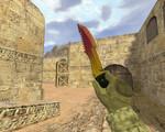 Превью – Охотничий нож Градиент