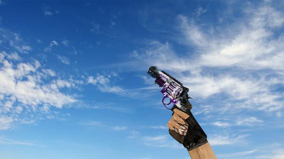 R8 Revolver Veteran Purple