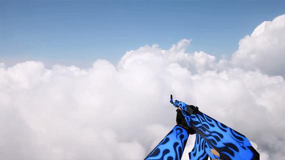 AK-47 Blue Flame
