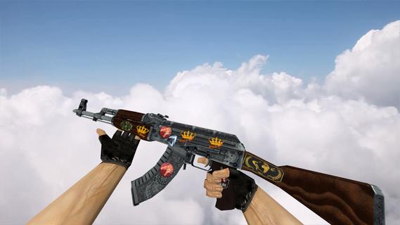 АК-47 «Картель» с наклейками