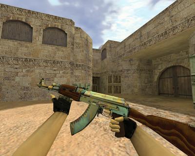 АК-47 Поверхностная закалка