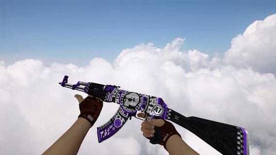AK-47 Demolition Purple