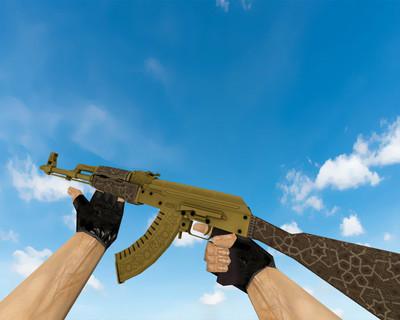 AK-47   Золотая арабеска (Gold Arabesque)