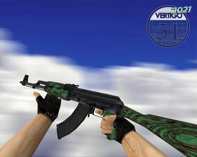 AK-47   Зелёный глянец (Green Laminate)
