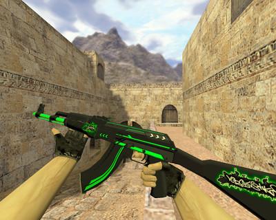 АК-47 Зеленая линия
