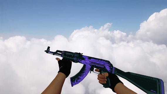 AK-47 Phoenix Rise Purple