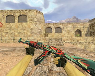 АК-47 Буйство красок