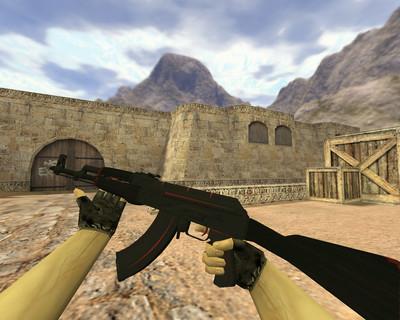 АК-47 Красная линия