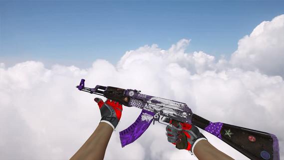 AK-47 Rise Purple