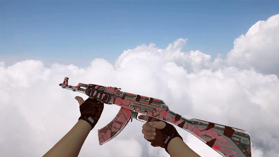 AK-47 Ruby Forged
