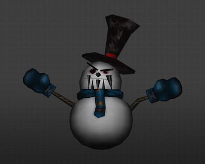 Злобный снеговик