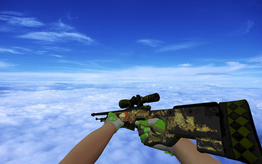 AWP Dragon Lore (Battle-Scarred)