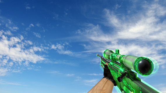 AWP Green Glass