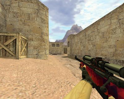 AWP Красная мозайка