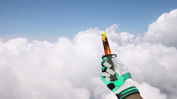 Штык-нож «Темное золото»