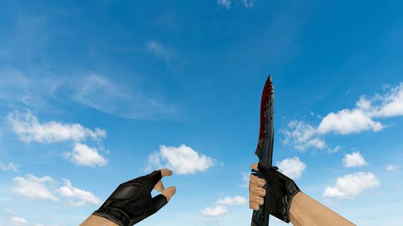 Bloody Default Knife