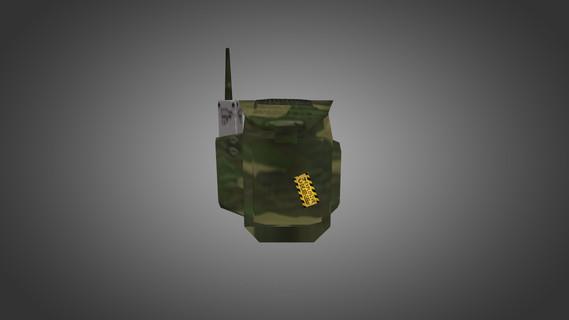 Рюкзак в камуфляже