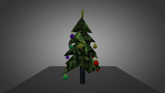 Christmas Tree for Chicken