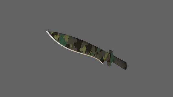 Классический нож | Северный лес