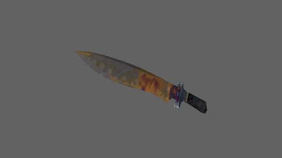 Классический нож | Поверхностная закалка