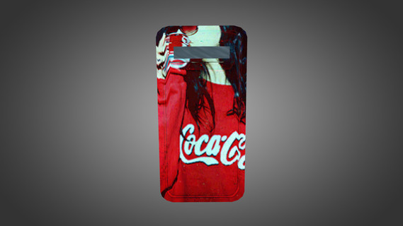 Coca-Cola Girl Shield