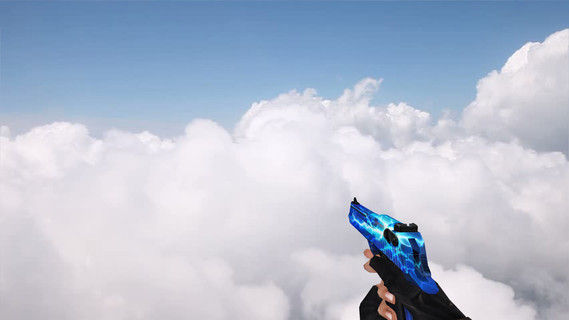 CSO Desert Eagle Blue Lightning