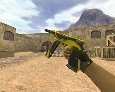 CZ-75 Желтый жакет