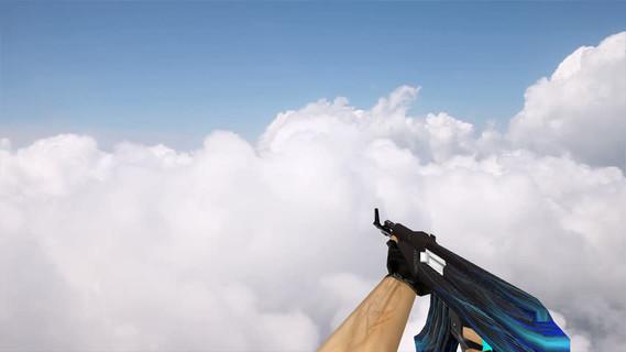 Default AK-47 Carbon Lines