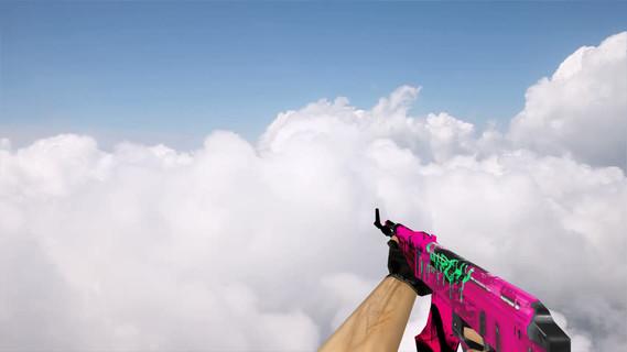 Default AK-47 Neon Revolution