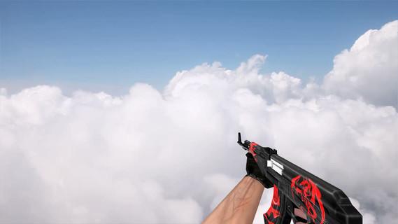 Default AK-47 Red Dragon