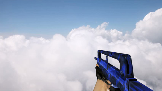 Default Famas Blue Tiger