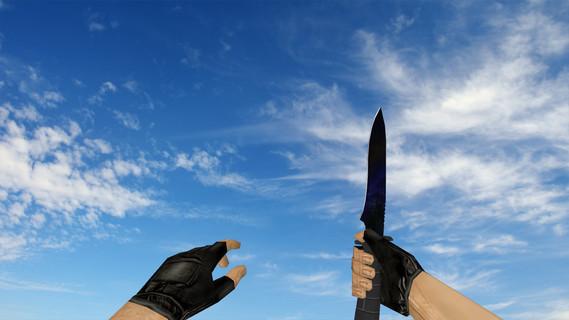 Стандартный нож Blue Night