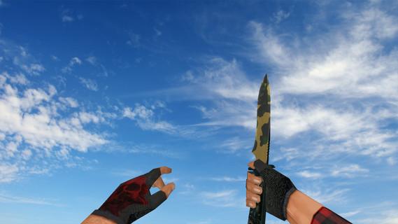 Стандартный нож «Северный лес»