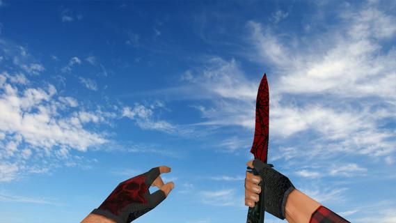 Стандартный нож «Кровавая паутина»