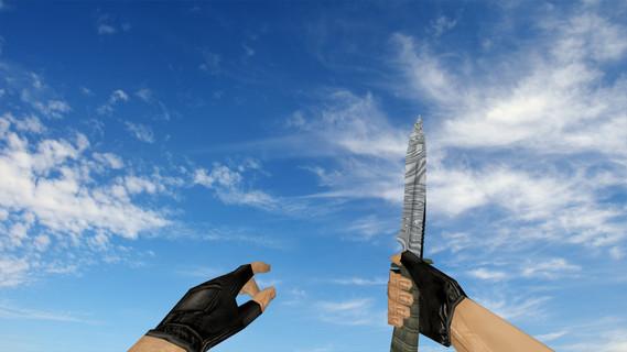 Стандартный нож «Дамасская сталь»