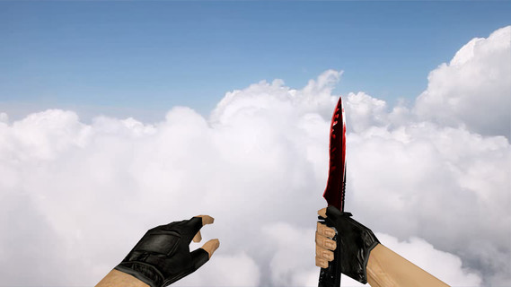 Default Knife Duality Red