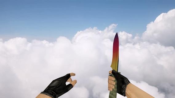 Стандартный нож «Градиент»