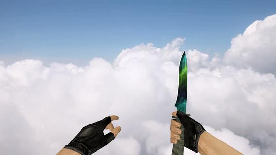 Стандартный нож «Гамма-волны»