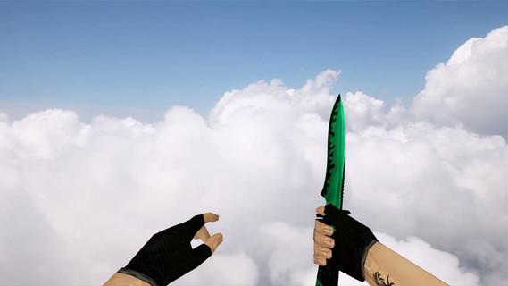 Default Knife Greenblack