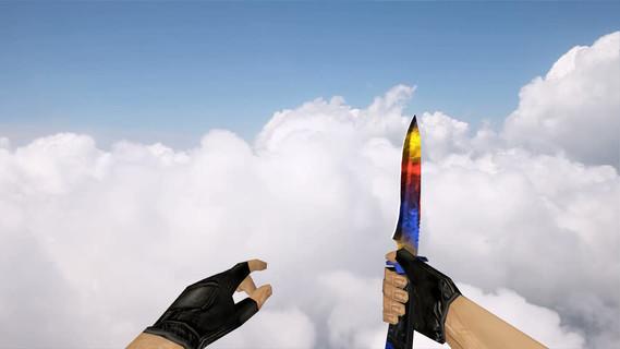 Стандартный нож «Мраморный градиент»