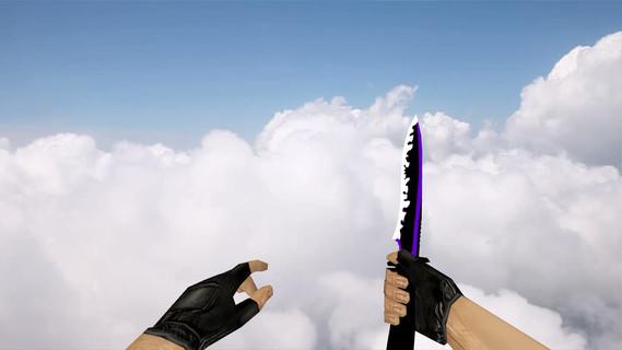 Default Knife Neon Purple