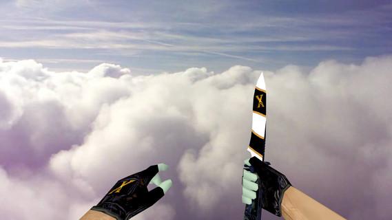Default Knife The X