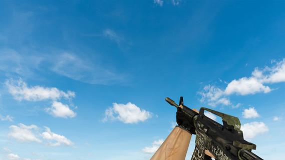 Default M4A1 «Взгляд в прошлое»