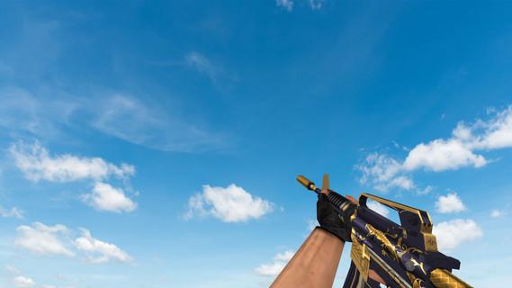 Default M4A1 «Золотая спираль»