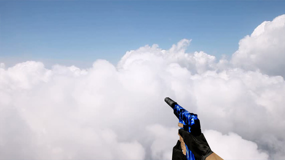 Default USP Blue Fire